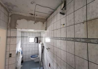 Jens Kleinmann Montagebau Badezimmer vorher