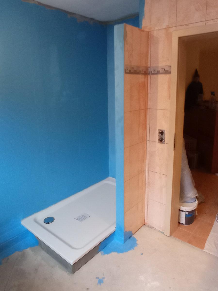 Modernisierung Badezimmer mit Ceramin Vario