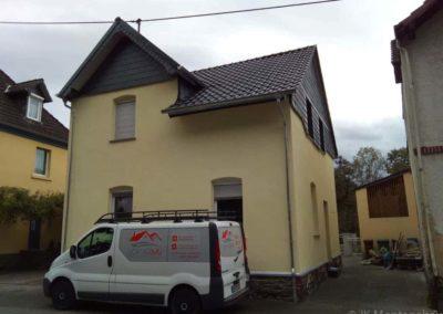 Fassadensanierung Wohnhaus